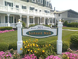 Seaboard Walk luxury rental near the beach in Cape May NJ